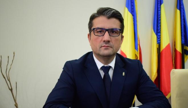 Foto: Primarul Constanţei, Decebal Făgădău,  urmărit penal de DNA pentru fapte de corupție