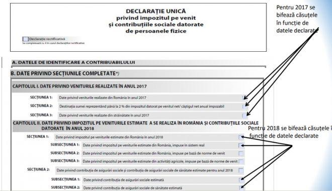 Foto: Declarația unică poate fi depusă  și la primăriile  din județul Constanța