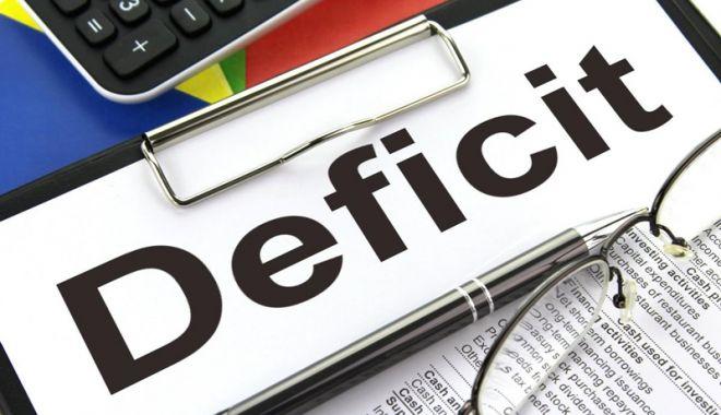 Foto: Deficitul bugetar a urcat la 4,46 miliarde de lei