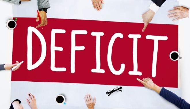 Foto: Deficitul bugetar  al României  se vede de cinci ori mai mic,  de la Bucureşti