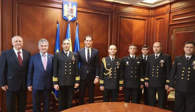 Foto: Delegație  din Turcia,  în vizită la  Primăria Constanța