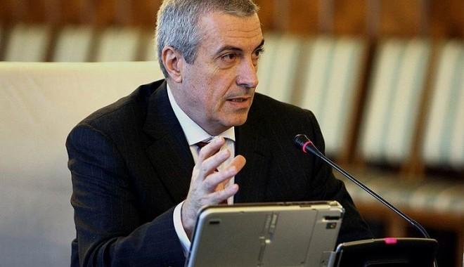 Foto: Tăriceanu propune Senatului să ceară demisia preşedintelui Băsescu