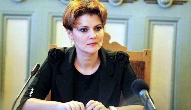 Foto: Liderul PNL Constanța cere demisia ministrului Muncii, Lia Olguța Vasilescu