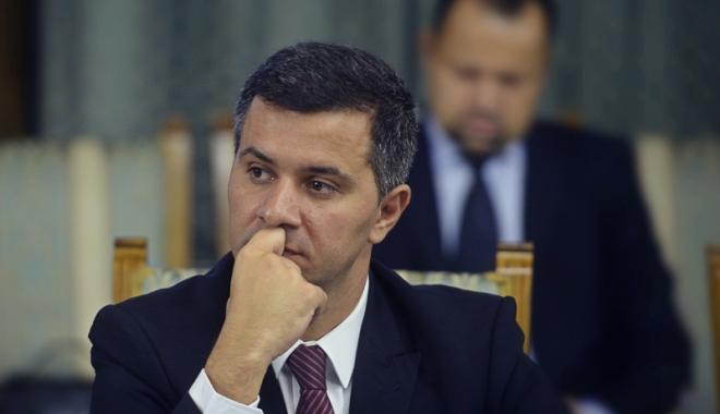 Foto: Ministrul Fondurilor Europene, Marius Nica,  a demisionat