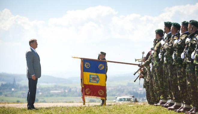 Foto: Demonstraţie de forţă a militarilor români