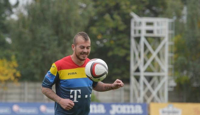 Foto: La ceas aniversar, Denis Alibec vrea să readucă suporterii pe stadioane