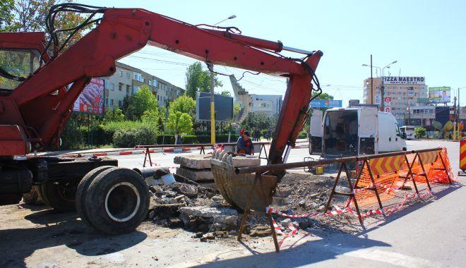 Atenție, șoferi! Trafic îngreunat pe bulevardul Tomis. Se lucrează la conductele de apă - deranjamenteraja4-1594365234.jpg