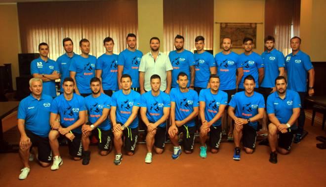 Foto: HC Dobrogea Sud şi HC Farul, susţinute financiar de Consiliul Local