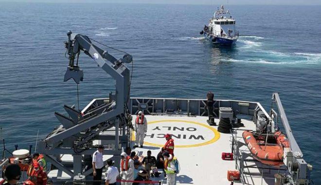 Foto: Desfăşurare impresionantă de forţe  în Marea Neagră. Exerciţiul SARPOL, la final