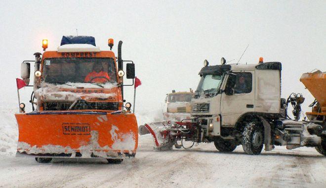 Foto: Compania de Drumuri și Poduri a cumpărat mașini de deszăpezire