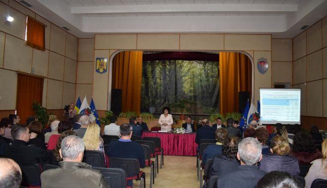 Foto: Dezbatere publică privind bugetul Primăriei Cumpăna. Care este valoarea investițiilor