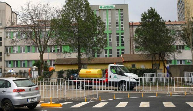 Foto: Acțiuni de dezinfecție la unitățile spitalicești din Constanța