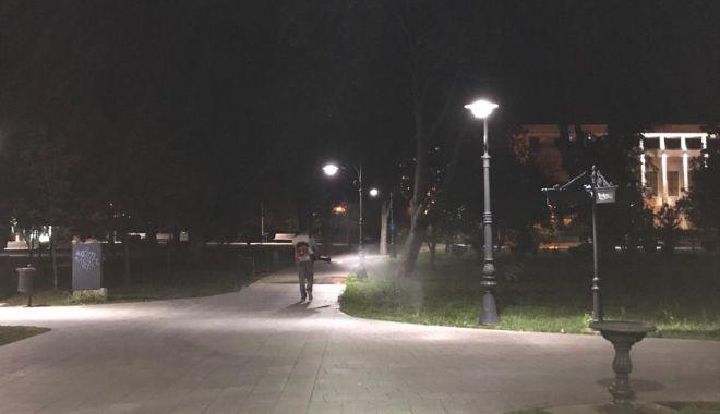 Foto: Acțiuni de dezinsecție, la noapte, în mai multe zone din Constanța