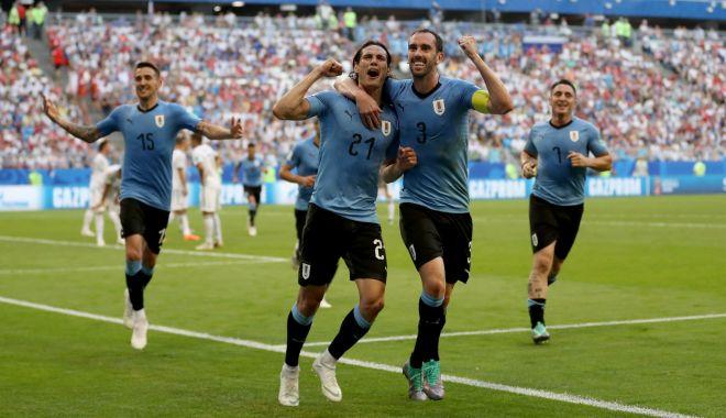 Foto: CM 2018. Uruguay - Rusia 3-0. Suarez şi Cavani lovesc, Cheryshev îşi dă şi el autogol, iar Uruguayul câştigă grupa A