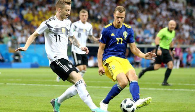 Foto: CM 2018. Germania a învins Suedia, scor 2-1, cu un gol marcat în minutul 95