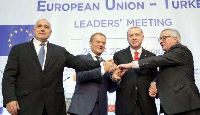 """Foto: Diferendele UE-Turcia. Tusk: """"Fără progrese concrete, la Varna"""""""