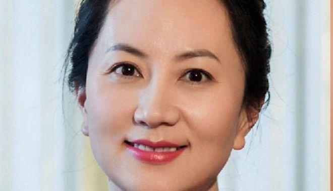 Foto: Directoarea Huawei a fost eliberată pe cauţiune