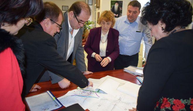 Foto: Discuţii pentru accesul comunei Cumpăna la autostrada A4