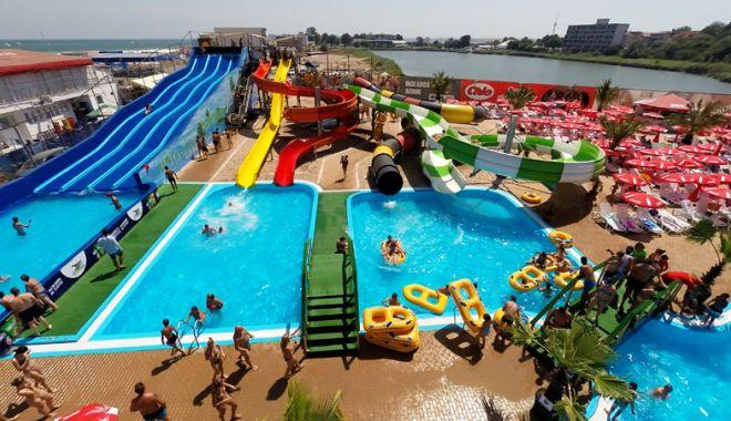 Foto: Distracție pentru copii, la Eforie Aqua Park
