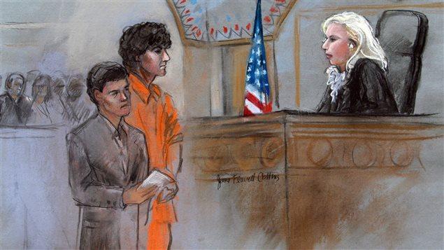 Foto: Djokhar Tsarnaev. condamnat la moarte pentru atentatele de la Boston