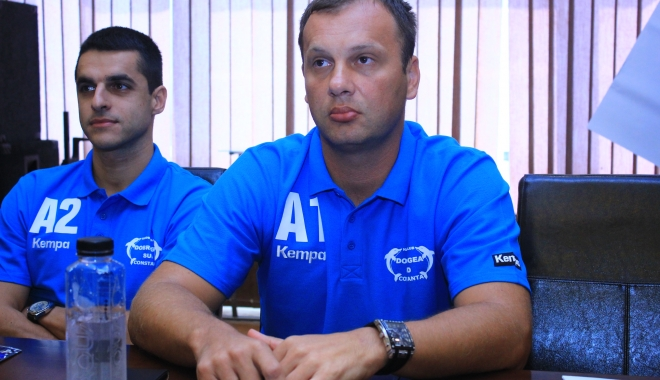 Foto: HC Dobrogea Sud Constanţa s-a despărţit de antrenorul Cirkovic