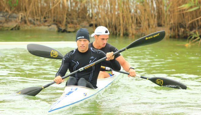 Doar trei sportivi de la CS Farul se pot antrena la kaiac-canoe.