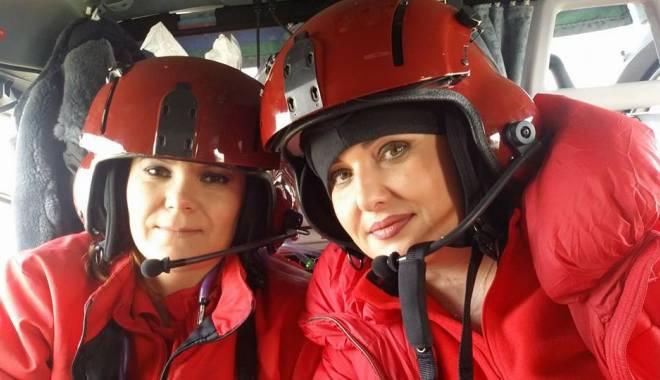 Foto: Asistenta dispărută din elicopter era ÎNSĂRCINATĂ! Aflase de dimineață!