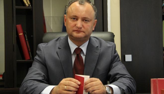 Foto: Igor Dodon, preşedintele Republicii Moldova, la a doua sa vizită oficială la Moscova