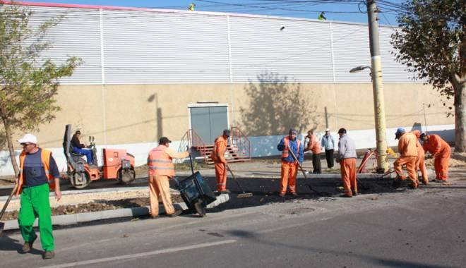 Foto: Ce bulevarde şi străzi din Constanţa vor fi asfaltate anul acesta