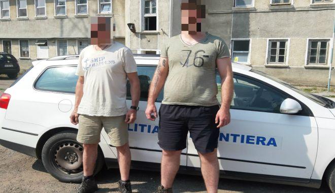 Foto: Doi cetățeni străini, opriți la frontiera cu Bulgaria