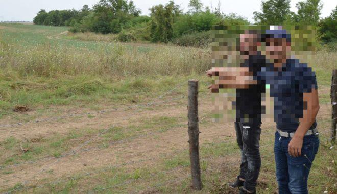 Foto: Doi cetățeni albanezi,  prinşi în timp  ce treceau ilegal frontiera  cu Bulgaria