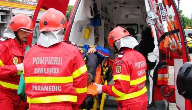 Foto: Doi copii răniţi într-un accident, în judeţul Constanţa