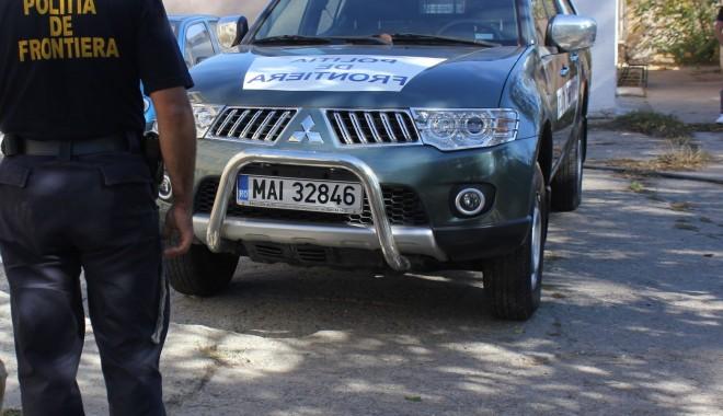 Foto: Doi migranţi armeni şi o călăuză ucraineană, depistaţi de poliţiştii de frontieră