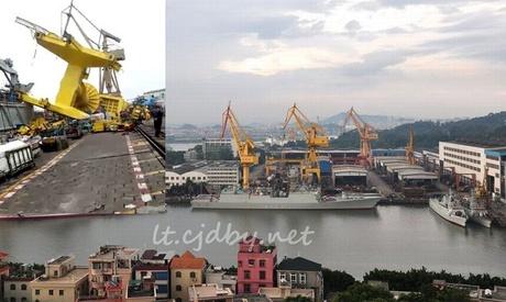 Foto: Doi morți și un rănit, într-un accident dintr-un șantier naval chinezesc