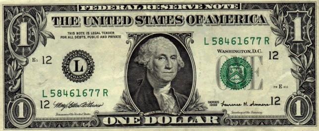 Foto: Dolarul american, aproape de 3,27 lei