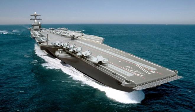 Foto: Donald Trump vrea 12 portavioane pentru Marina americană