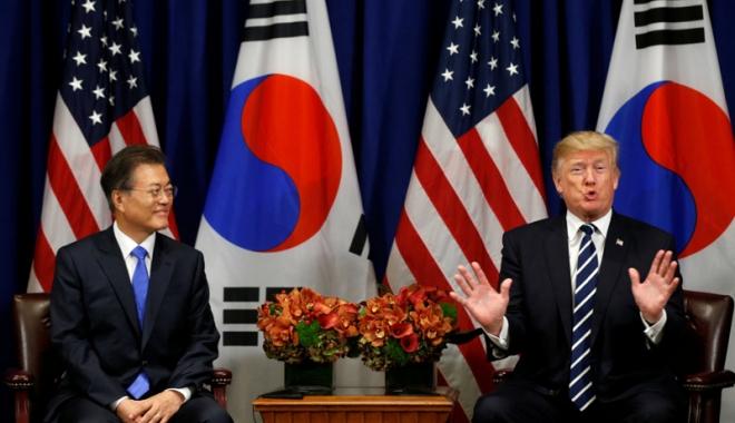 Foto: Donald Trump, aşteptat într-o vizită în Coreea de Sud, la 7 noiembrie