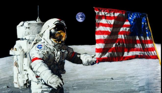 Foto: Donald Trump vrea reîntoarcerea astronauților americani pe Lună