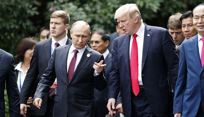 Foto: Donald Trump l-a invitat  pe Vladimir Putin în SUA