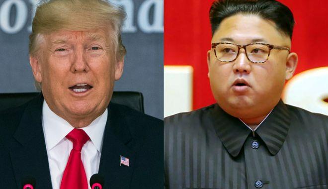 Foto: Donald Trump reconfirmă întâlnirea cu Kim Jong Un pe 12 iunie, în Singapore