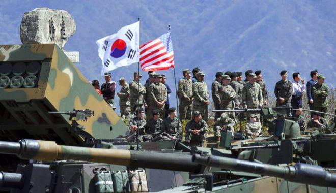 """Foto: Donald Trump: """"Trupele americane  nu se retrag din Coreea de Sud!"""""""