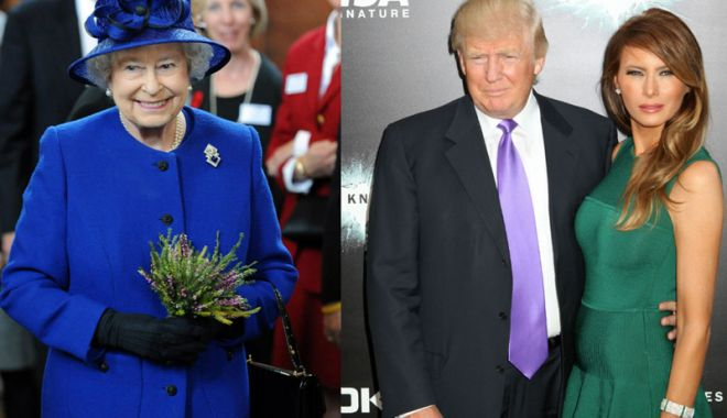 Foto: Donald Trump se va întâlni cu regina Elisabeta a II-a, la Londra