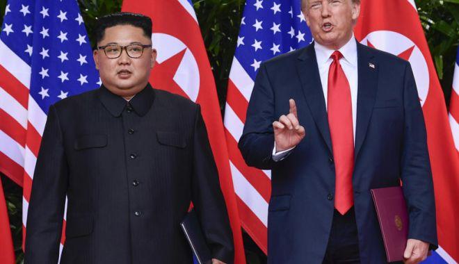 Foto: Donald Trump, extrem de bucuros după negocierile cu Phenianul
