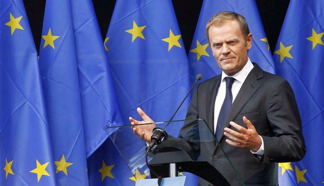 Foto: Donald Tusk le va cere liderilor europeni o prelungire extinsă a Brexit-ului