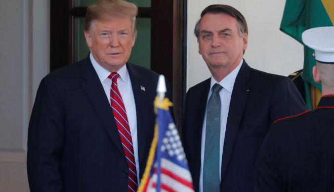 Foto: Donald Trump iniţiază procesul de a declara Brazilia drept aliat major non-NATO