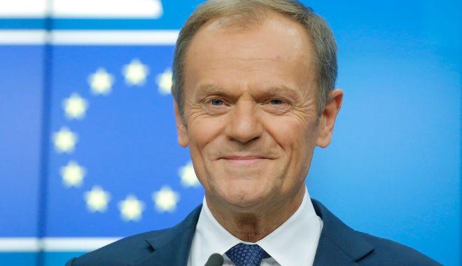 Foto: Donald Tusk, mandatat de liderii UE să găsească un viitor președinte al Comisiei Europene