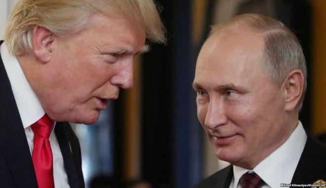 Foto: MAE rus: Donald Trump l-a invitat pe Vladimir Putin în SUA