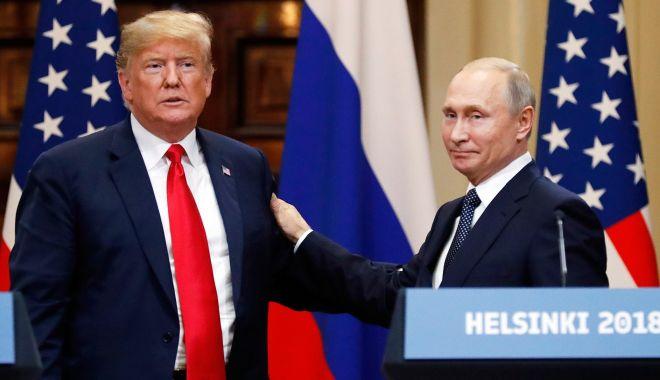 Foto: Donald Trump: Niciun preşedinte nu a fost atât de dur cu Rusia aşa cum am fost eu