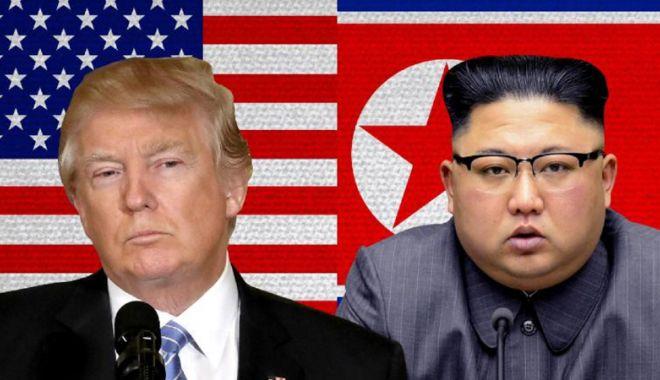 Foto: Donald Trump şi Kim Jong-un se vor întâlni la Singapore