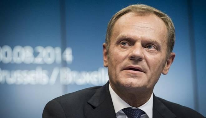 Foto: Tusk: UE va respecta decizia poporului britanic în privinţa rămânerii sau ieşirii ţării din blocul comunitar